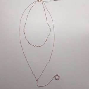 Kate Spade New Rose Gold Layered Necklace